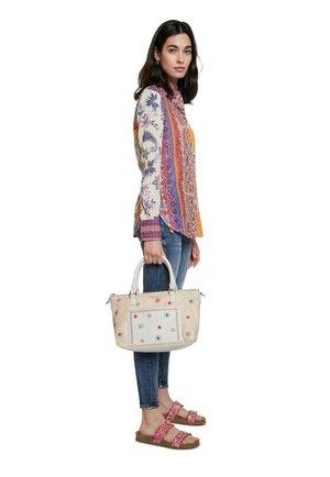BOLS CRISTAL MOON PADU - Handbag - beige