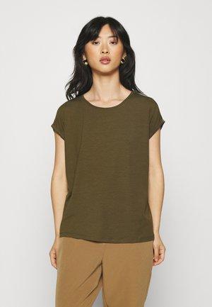 VMAVA PLAIN - T-shirt basic - dark olive