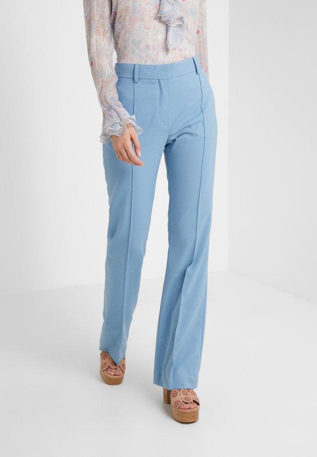 Trousers - faded denim
