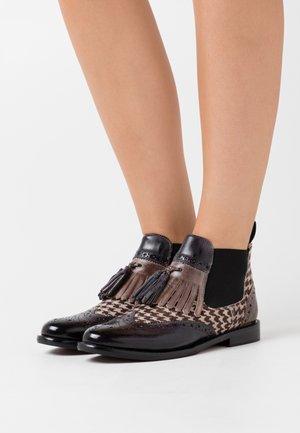 SELINA  - Ankle boot - london fog/black/white/stone/burgundy
