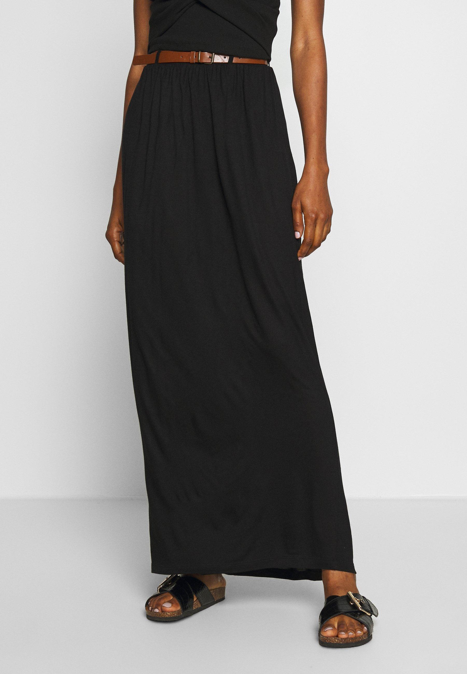 Women VMLINN BELT ANKLE SKIRT - Maxi skirt