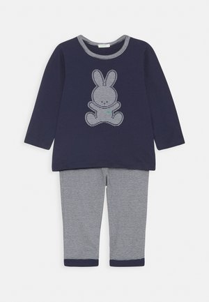 TROUSERS SET UNISEX - Pyjama set - dark blue