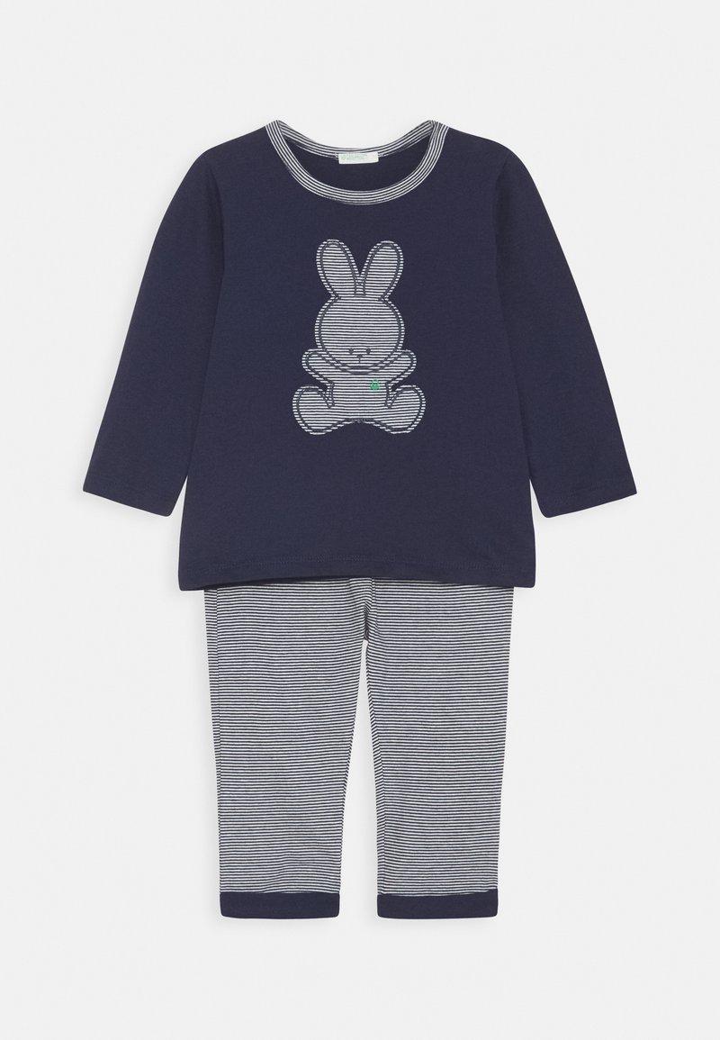 Benetton - TROUSERS SET UNISEX - Pyjama set - dark blue