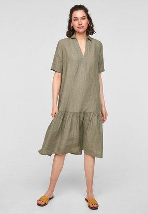 Robe d'été - summer khaki melange