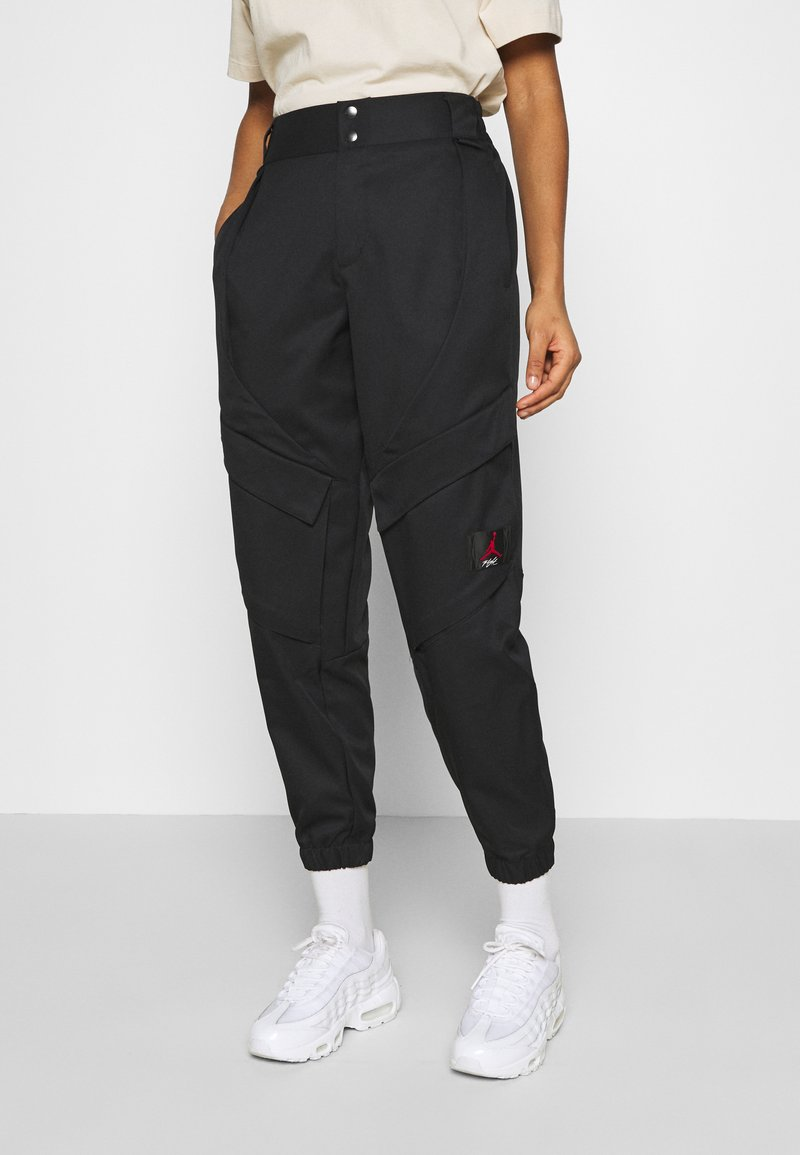 Jordan - ESSEN UTILITY PANT - Cargo trousers - black