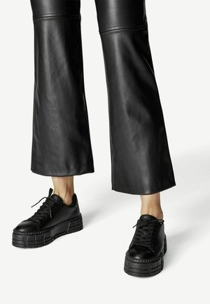 Tenisky - black leather