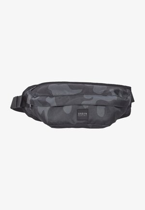 URBAN CLASSICS CAMO SHOULDER BAG - Bum bag - dark camo