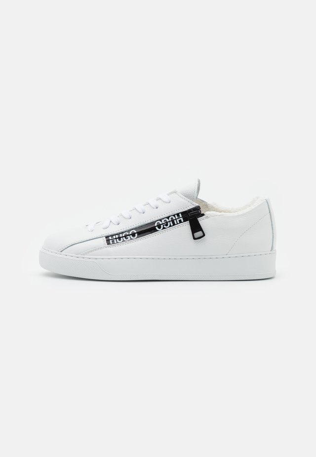 DEVA LACE UP ZIP - Sneakers laag - white