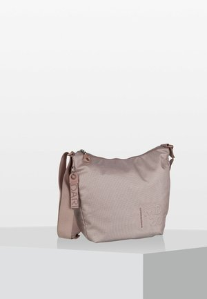 LUX BIG HOBO - Across body bag - light pink