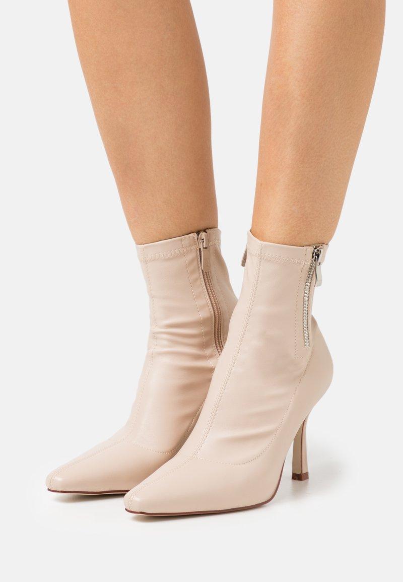 RAID - RUBINA - Classic ankle boots - nude