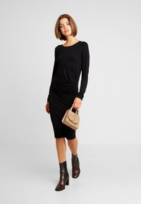 Vila - Day dress - black - 1