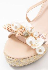 BEBO - RIAN - Sandaler med høye hæler - nude - 2