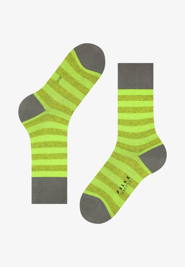 SENSITIVE MAPPED  - Socks - fume