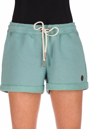 ODA  - Shorts - mineral blue