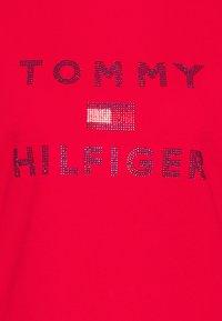 Tommy Hilfiger - TIARA HOODIE  - Bluza z kapturem - primary red - 6