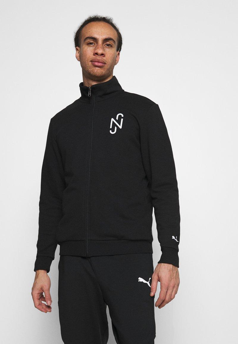 Puma - NEYMAR JR TRACK JACKET - Zip-up sweatshirt - black