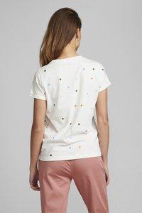 Nümph - NUBRENNAN - T-shirts med print - pristine - 1