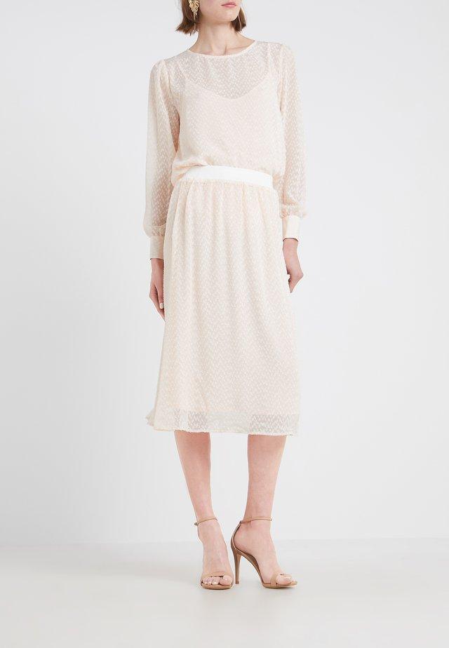 ZILKE EDNA SKIRT - A-line skirt - rosa nude