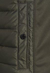 TOM TAILOR - HYBRID JACKET - Light jacket - shadow olive - 2