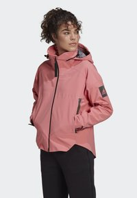 adidas Performance - Waterproof jacket - pink - 0