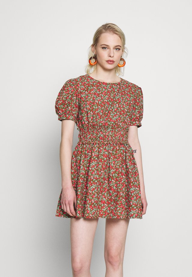 PENNIE MINI - Day dress - khaki
