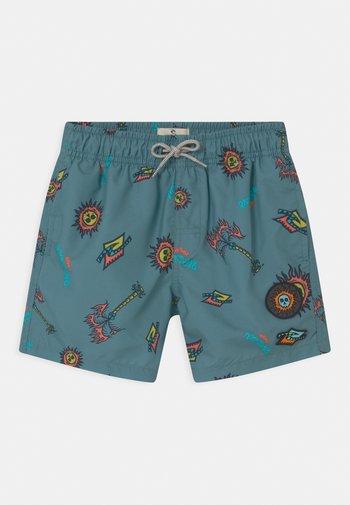PALMZ VOLLEY BOYS - Swimming shorts - mid blue