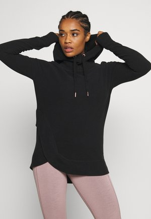ESCAPE LUXE HOODY - Fleecegenser - black