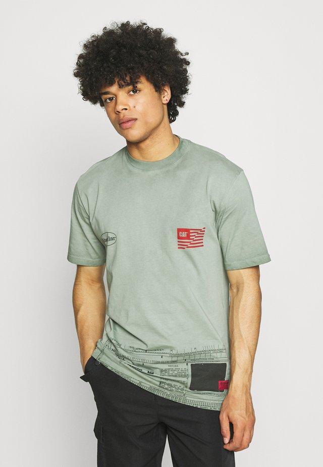 WORKWEAR MACHINE TEE - T-shirt med print - mint