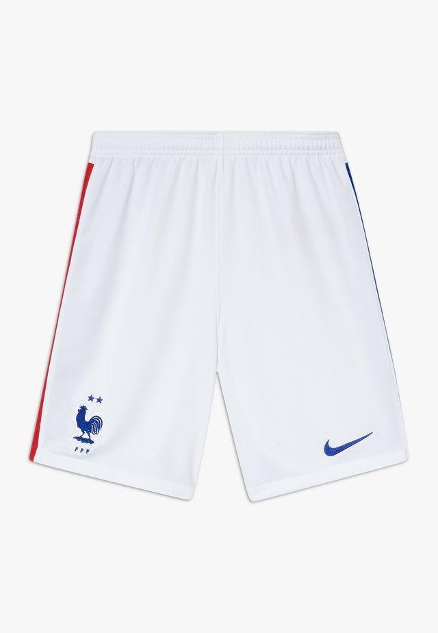 FRANKREICH UNISEX - Short de sport - white/concord