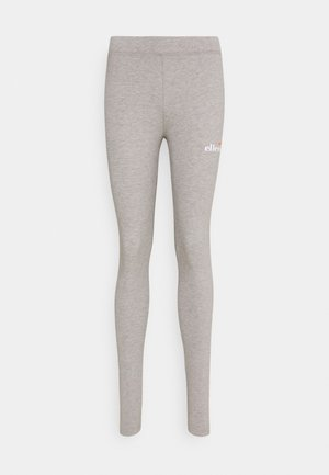 APRILO - Leggings - Trousers - grey marl