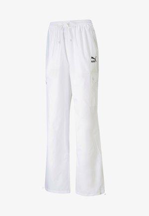 Tracksuit bottoms - puma white
