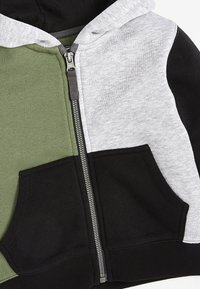 Next - SET - Zip-up hoodie - khaki - 5