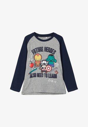 T-shirts print - grey melange
