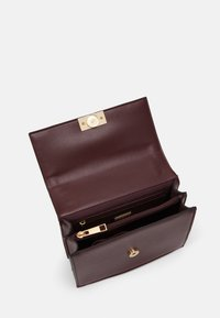 ALDO - PENTZIA - Across body bag - bordo/gold-coloured - 2