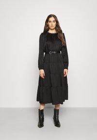 MICHAEL Michael Kors - CHAIN TIERED DRESS - Vestito lungo - black - 0