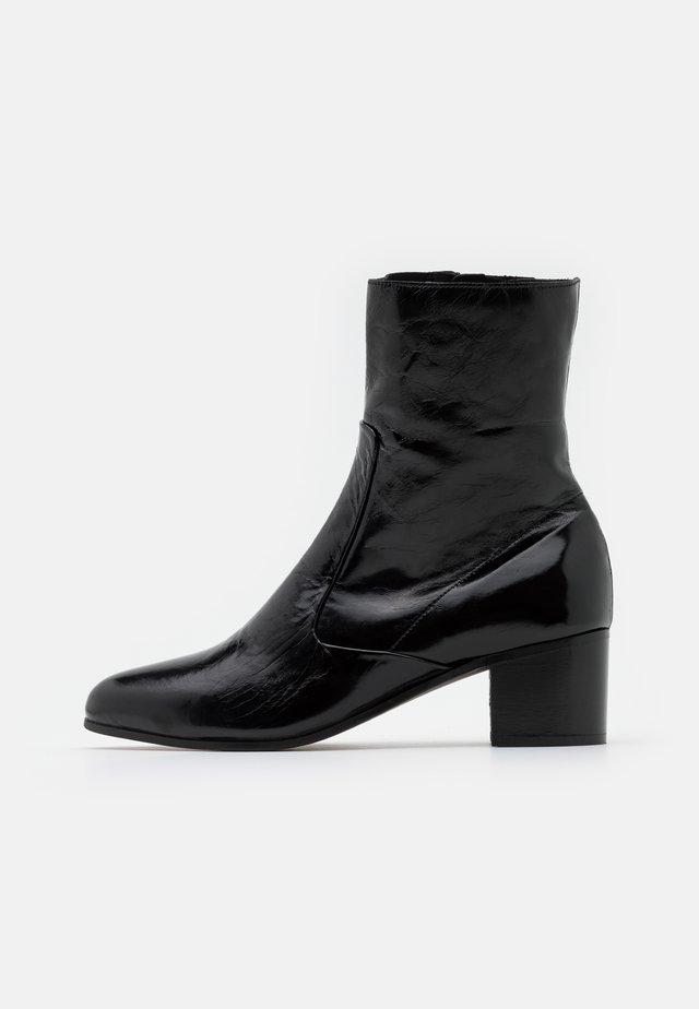 DEBEX - Kotníkové boty - noir