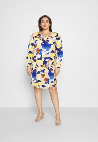 MY TRUE ME TOM TAILOR - DRESS BLOUSE STYLE - Day dress - big floral pattern - 1