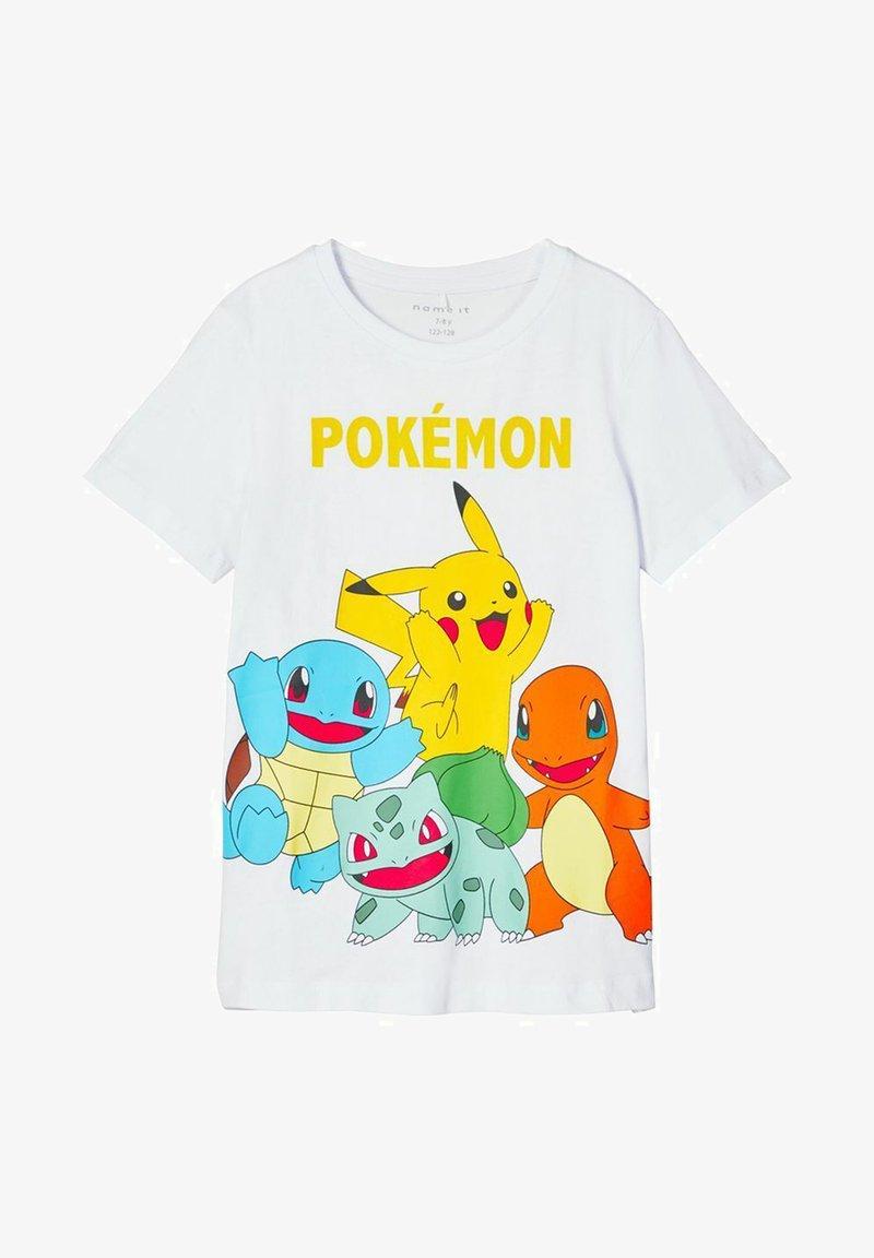 Name it - POKEMON - Print T-shirt - bright white