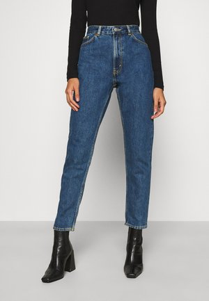 KIMOMO LA LUNE - Jeans a sigaretta - blue medium dusty