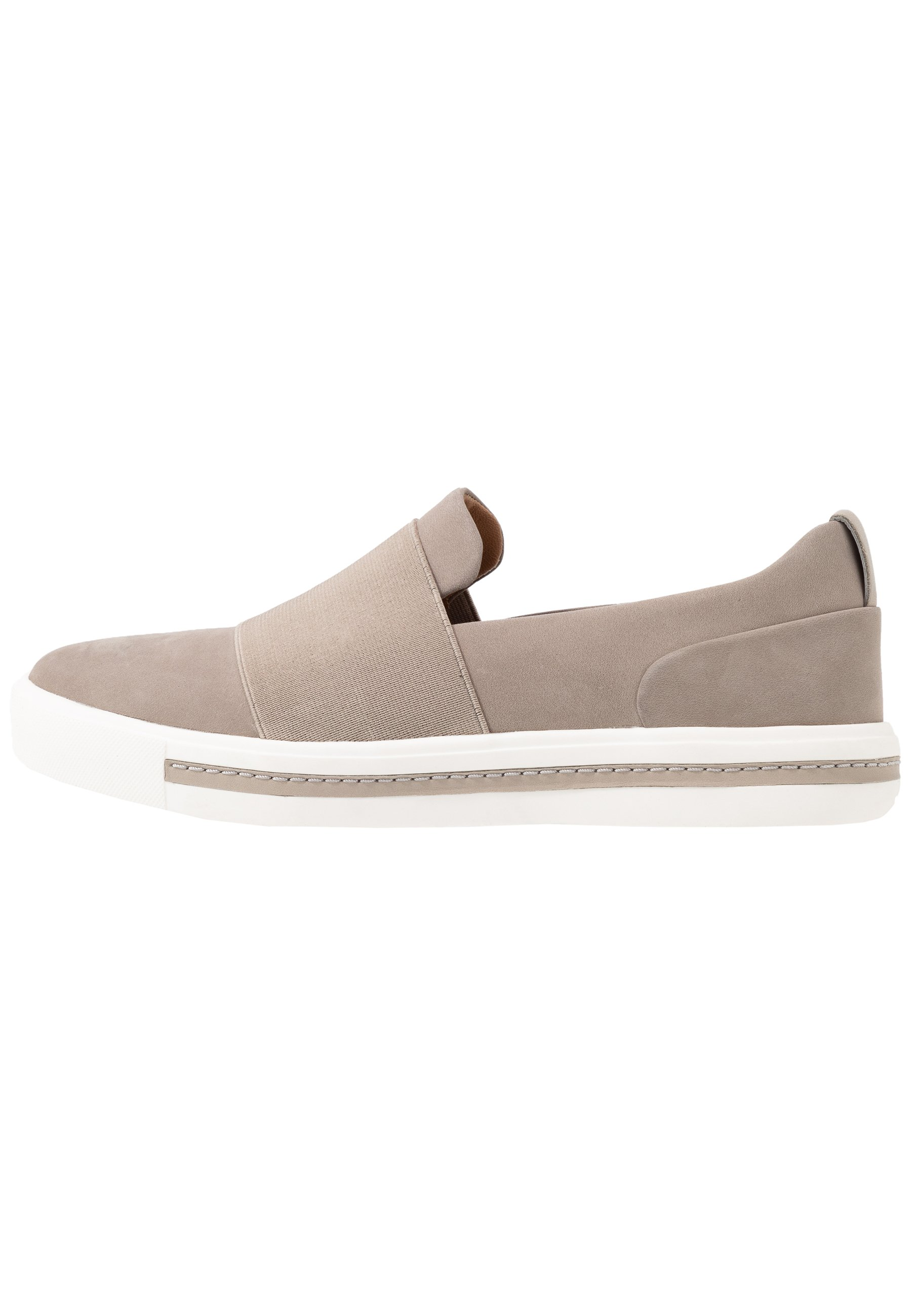 Clarks Unstructured MAUI STEP - Mocassins - stone