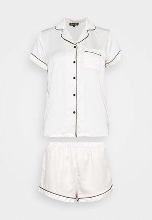 TRADITIONAL SHORT SLEEVE SHIRT  - Pyjama - white