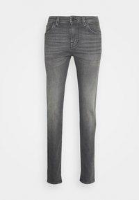 SLHSLIM LEON - Jeans slim fit - light grey denim