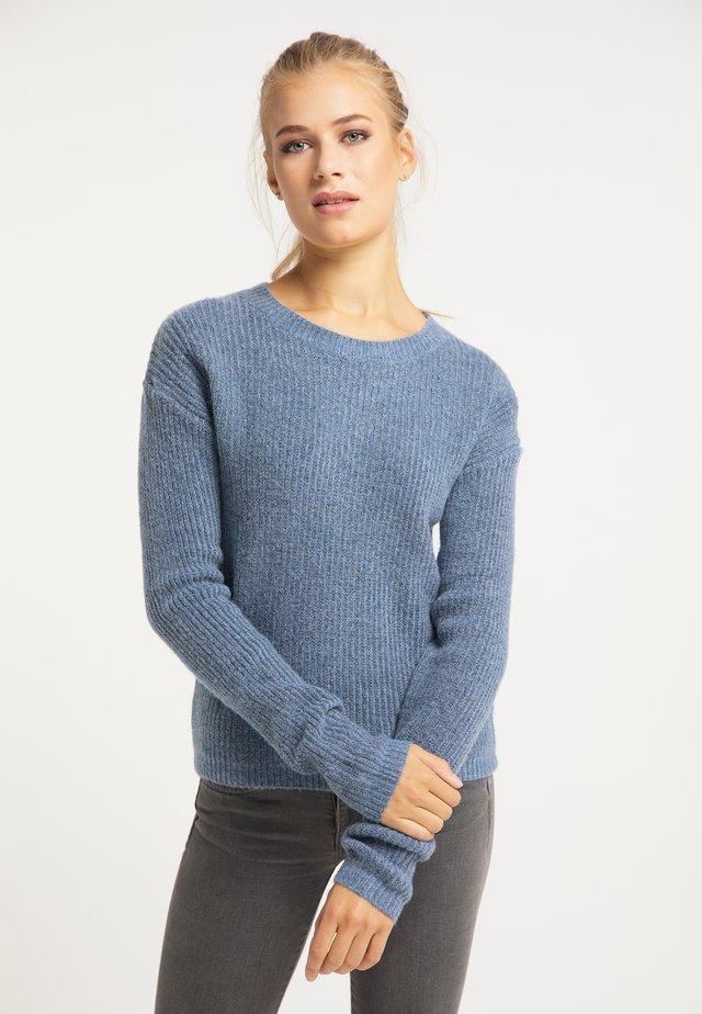 Pullover - denim