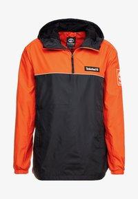 Timberland - HOODY - Windbreaker - spicy orange/black - 4