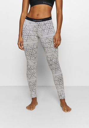 LEGGINGS ICE STRUCTURE - Base layer - snow