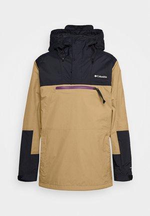 PARK RUN ANORAK - Snowboardjakke - delta/black/plum