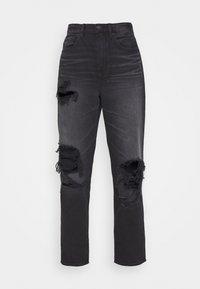 American Eagle - 90'S BOYFRIEND - Relaxed fit jeans - black blaze - 3