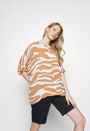 IOYA - Button-down blouse - chipmunk