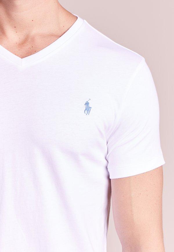 Polo Ralph Lauren T-shirt basic - white/biały Odzież Męska ODLB