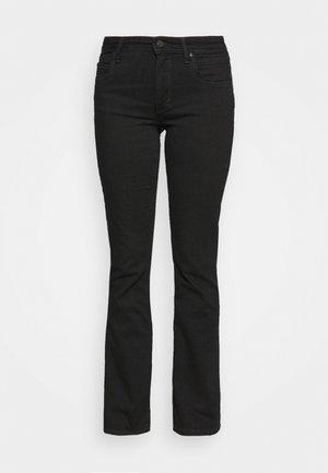NELLA - Slim fit jeans - multi/worn out black